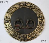 special offer  island-Chinese antique furniture cabinet drawer handle 14cm animals of pure copper DB-197 14CM
