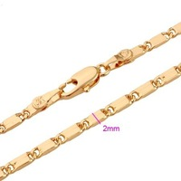 Fashion Gold Olated Chain Nice Jewelry 116018 Accessories