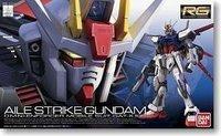 Original Bandai Gundam Model / RG 03 1/144 AILE STRIKE GUNDAM / Made in Japan / Free Shipping