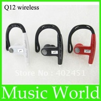 3pcs/lot free shipping Q12 wireless headset for iphone 4/4s sumsung Nokia