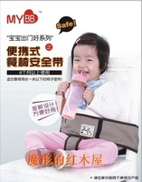 Free Shipping Baby Eat chair Seat belt Portable baby seat belts Baby Dining Chairs belts--factory price