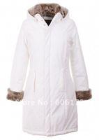 Free transport Woolrich Cheapest women's fur coats /winter long coat jacket Warm coat Winter snow suits