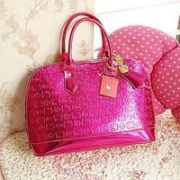 HELLO KITTY hello kittyfunky divas buddhistan red handbag lock bags