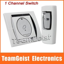 NEW 1 Port Channal Digital Wireless Remote Control Wall Switch Support 50m Remote Control Free Shipping(China (Mainland))