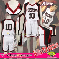 Kuroko No Basketball Kagami Taiga Private College Basketball Uniform NO.10 boy man's Cosplay Costume cos male halloween party