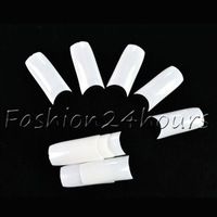 New 500pcs White Color French Acrylic False Nail Art Tips Nail Art
