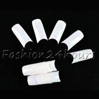 New 500pcs White Color French Acrylic False Nail Art Tips Nail Art