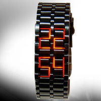 Personalized watches led mens watch fashion table vintage table  for men  for lady   Free shipping