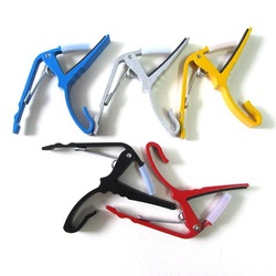 5 Colors Acoustic Electric Guitar Quick Change Trigger Capo Clamp Release Folk[030578](China (Mainland))