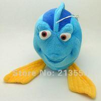"Free Shipping 5/Lot Plush Clownfish Finding Nemo Blue Clown Fish Stuffed Animal 10"" Retail"