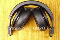 famous DETOX headphones on ear headphone with volumn control with MIC in Pure Black