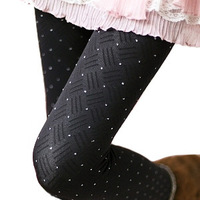 Mini order is USD15,spring and autumn Women stockings legging round dot modal cat tights ,legging