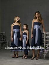 popular taffeta girl dress