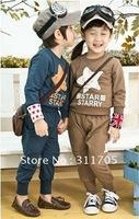 children clothing kids sports suits boys girls outwear autumn (#M121061)---20pcs
