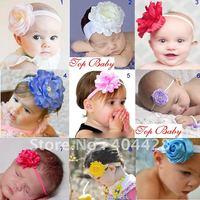 free shipping 9 designs 10pcs/lot fashion baby's headband girl's headband 20120920C