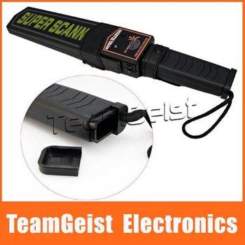 Body scanner Super Scanner sound / light / vibration alarm + High Sensitivity Hand Held Metal Detector & Free Shipping