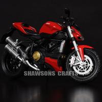DIE CAST 1/12 DUCATI STREETFIGHTER 2010 MOTORCYCLE SPORT BIKE MODEL REPLICA