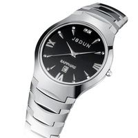 Brand New pure tungsten steel quartz watches water resistant men's watch luxury sapphire men's