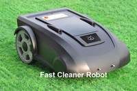 2014 Newest Brand Robot Lawn Mower With Newest Function ELETRONIC COMPASS +Li-ion Battery +Bruless Motor