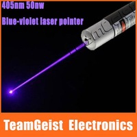 10pcs/lot High Power Blue Laser Pointer 405nm 50mW Adjustable Focus Blue-violet Stars Kaleidoscope Free Shipping