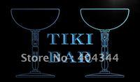 LM135- Tiki Bar Cocktail Mask Beer Pub Neon Light Sign   hang sign home decor shop crafts led sign
