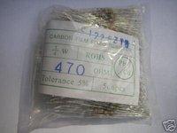 20PCS  470  Ohm  1/4  Watt  W  Carbon  Film  Resistors  NEW  m