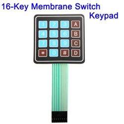 16-Key Membrane Switch Keypad, Keyboard General Use(China (Mainland))
