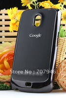 aluminium chrome skin hard back case cover for phone Samsung Google Nexus GT i9250