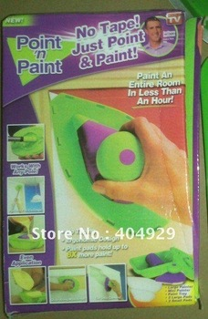 PERFECT PAINT PRO & FREE EXT. POLE 4X PADS N PAINTING SYSTEM JUST POINT N PAINT