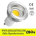 High lumen 700lm 6W COB led GU10 spotlight bulb 220V 230V 240V not dimmable with CE ROHS SAA PSE approval Free shipping