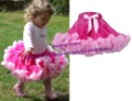 Retail 1 PCS Children Baby Girls Rose Pink And Pink Patchwork Pettiskirt TuTu Skirts Princess Skirt Kids Clothes Free Shipping