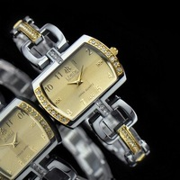 100% Authentic LOBOR brand Barrel-type crystal with gift box Luxury women fashion watch Factory Outlet LB-150L /3