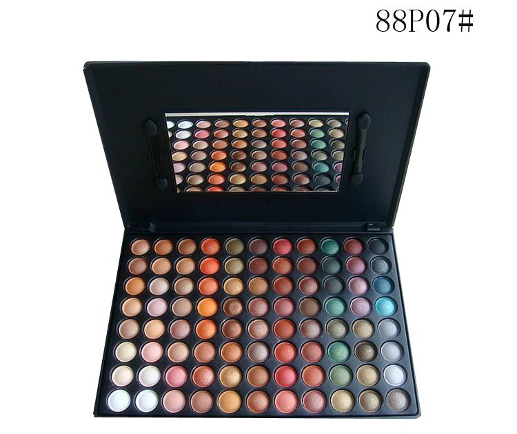 free shipping Pro 88 Warm Color Eye shadow Makeup Palette Eyeshadow 88P07#(China (Mainland))
