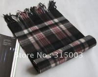100% High-grade wool fashion plaid scarf and shawl Men and women general