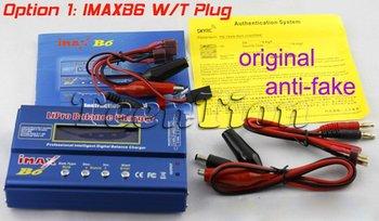 Free shipping Original IMax B6 Digital LCD Lipo NiMh 2s 3S 4s 5s 6s battery Balance Charger (option 1)
