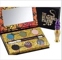 Best Selling 2012 Makeup! 6 pcs/lot new feminine 6-color eye shadow + eyeliner + primer