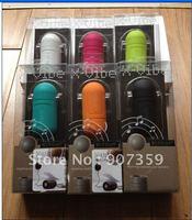 X-Vibe Vibration Portable Speaker System Music Audio Speaker Dock 3.55mm mini jack for iPod iPhone 4S Mp3 Mp4 laptops 6 colors