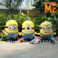 """Despicable Me Minions Character Plush Soft Toy 3PCS 6"""" Stuffed Animal Cute Doll Retail Free Shipping"""