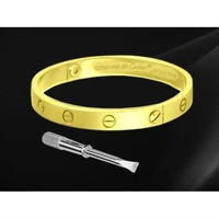 top quality 18k gold ladies bangles and bracelets with original boxes fashion gold bangles.18k gold jewelry