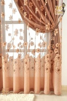 The high-grade sheer curtains window screening,suitable for marriage room, living room,bedroom