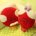 Free shipping 50*40cm both a lifetime couple grandpa grandma hold pillow cushion sweet wedding plush doll toy gift 2 pcs a lot