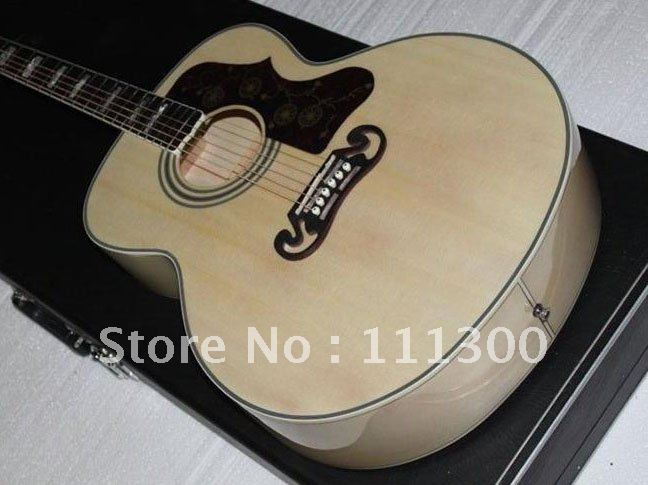 New AMusical Instruments Artist Acoustic wood color classic Electric Guitar HOT(China (Mainland))