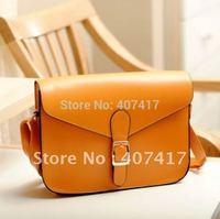 Free Shipping Hot Selling Retail 2015 Hot Fashion Women Casual Shoulder Bag PU Leather Handbag