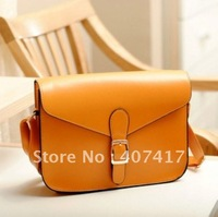 Free Shipping Hot Selling Retail 2013 new  Arrival Fashion Women Casual Shoulder Bag PU Leather Handbag