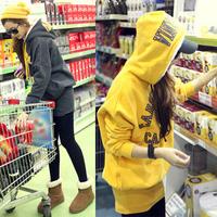 Женские толстовки и Кофты 2012 fashion womens panda hoodie with ears hat zipper sweatshirt