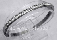 DK70174 BRACELET fasion 8mm stainless steel with DIAMENT