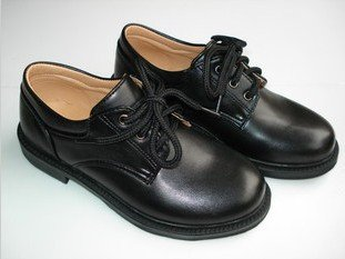 Black Uniform Shoes Women With Shoelace