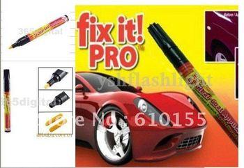 High quality Portable Fix It Pro Clear Car Scratch Repair Remover Pen for Simoniz 50 pcs/lot whole &retail