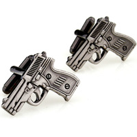 Copper gold cufflinks 170371