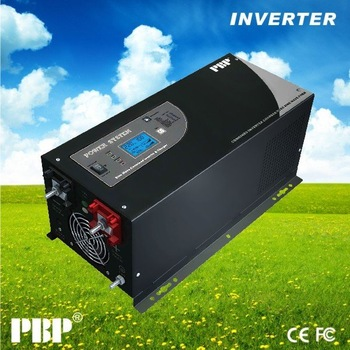 24v 220v 3000w pure sine wave inverter solar inverter LCD display with built -in battery charger 45A